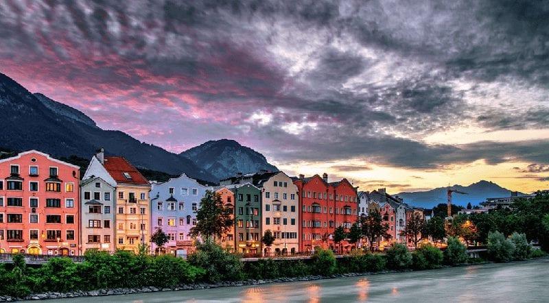 Autotrein naar Innsbruck