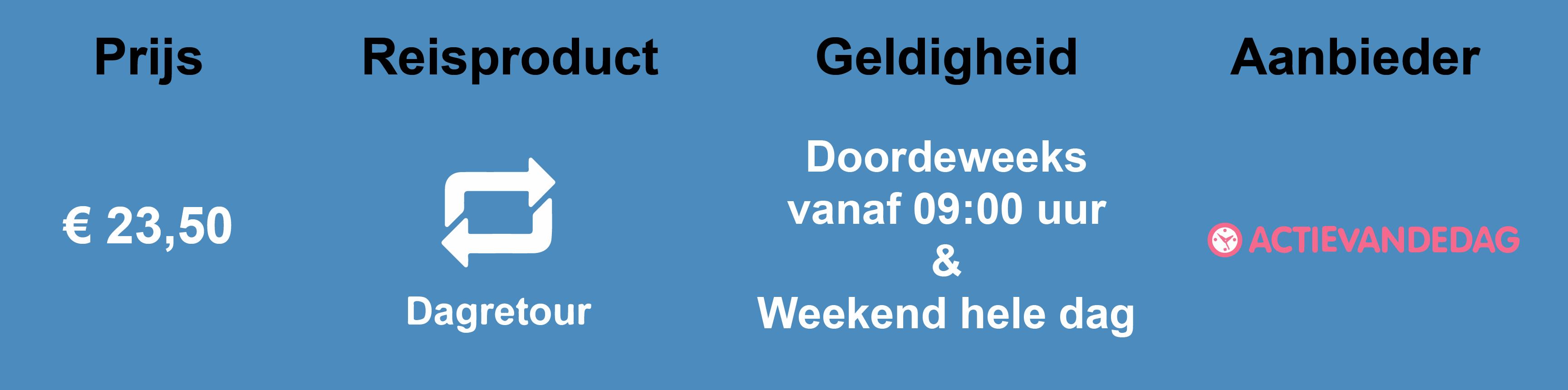 Dagretour ActieVanDeDag