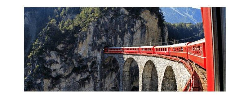 Glacier Express rondreis door Zwitserland