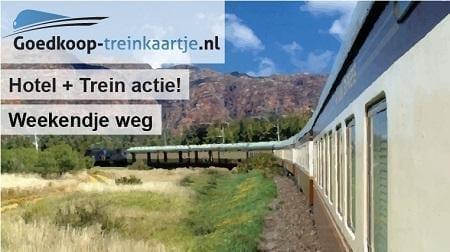 Hotel + trein