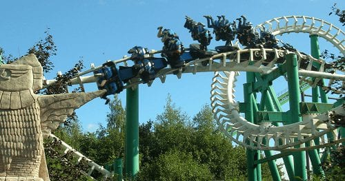 Trein, Bus en Walibi Holland