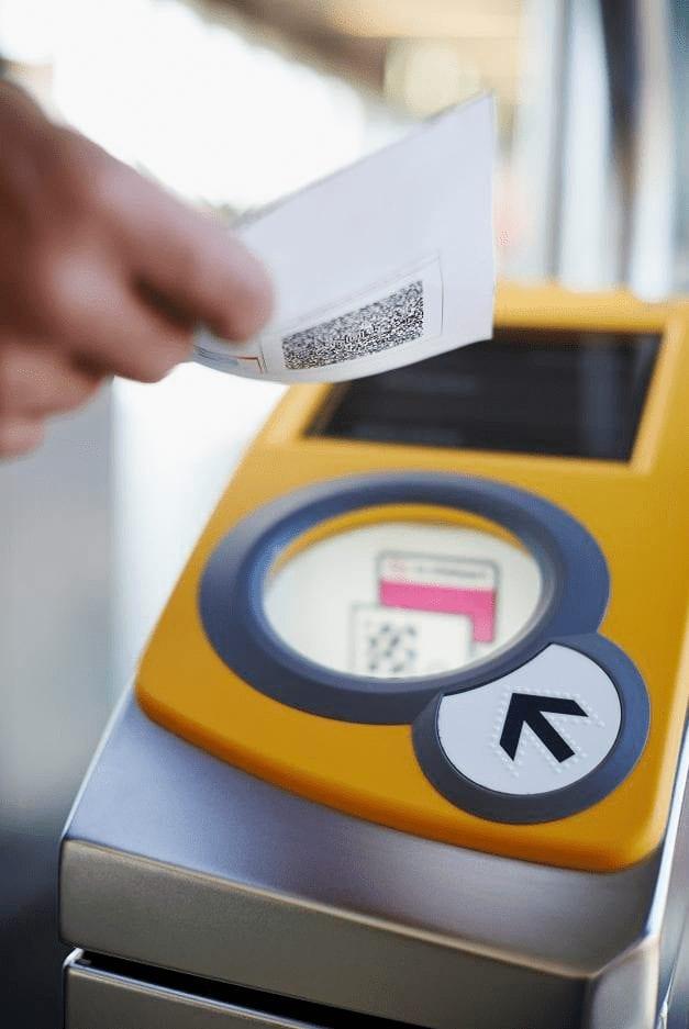 Inchecken e ticket