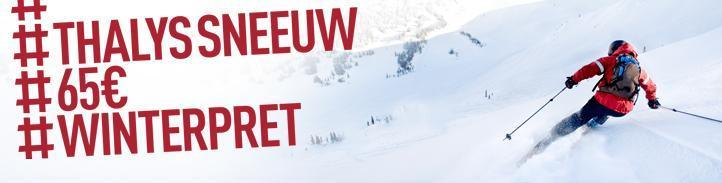 Thalys Winter aanbieding