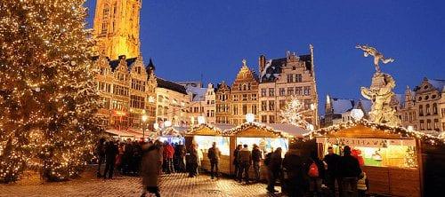 Trein naar Antwerpen