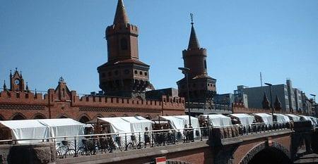 Markt in Berlijn