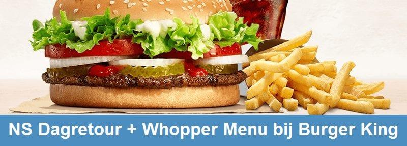 Treinkaartje Burger King
