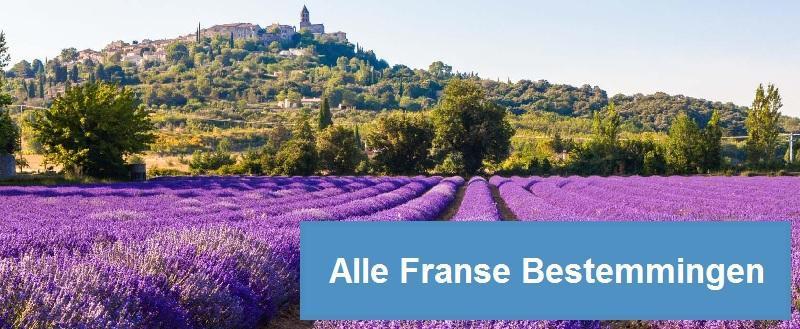 Trein Frankrijk - Alle bestemmingen