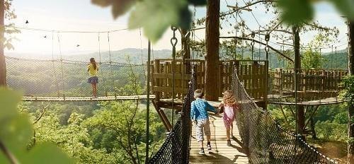 Wildpark bij Grotten van Han