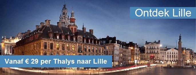 Thalys naar Lille