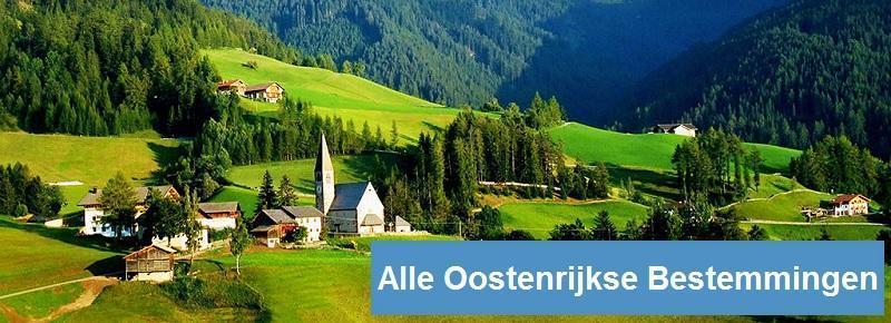 Oostenrijkse trein bestemmingen