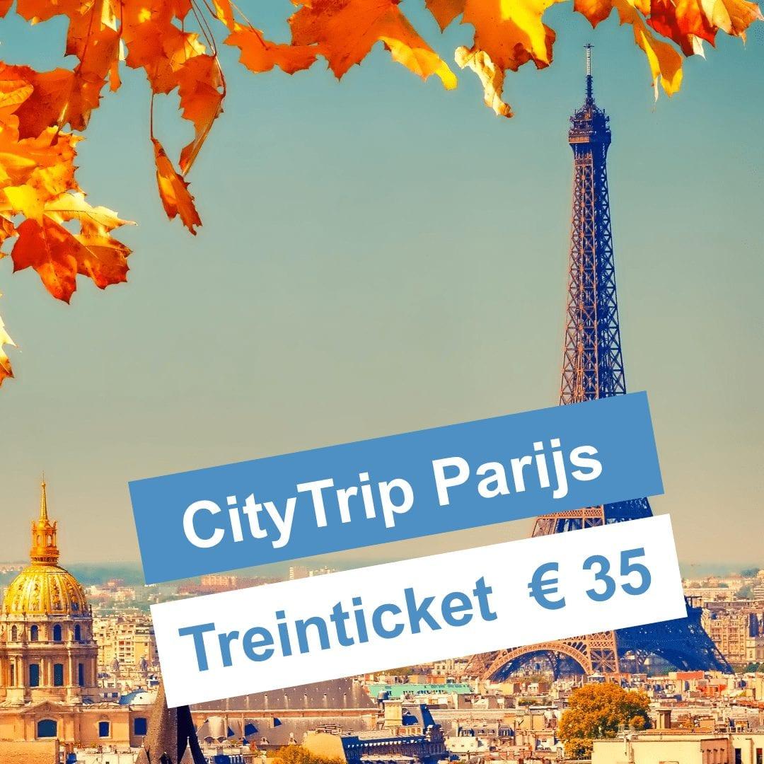 Treintickets Parijs