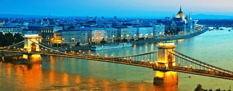Treintickets naar Boedapest