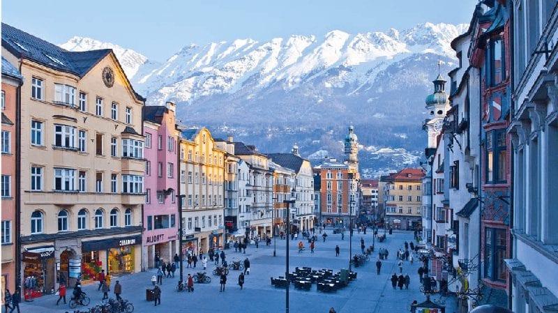 Treintickets per Autotrein naar Innsbruck