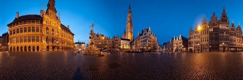 Treinreizen naar Antwerpen
