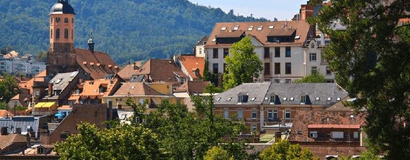 Treinreis naar Baden Baden