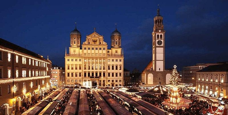 Treintickets naar Augsburg
