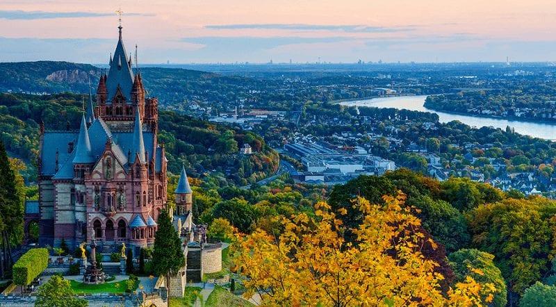 Treinreizen naar Bonn