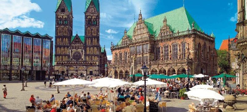 Treinreizen naar Bremen