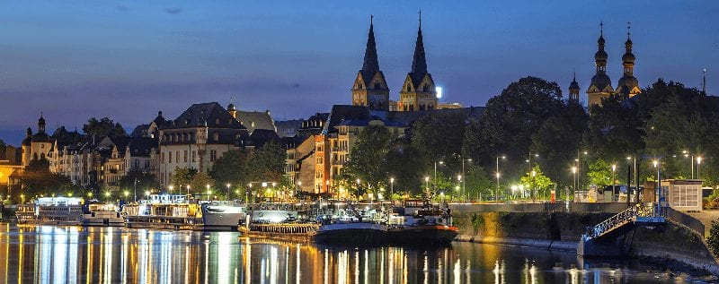 Treinreizen naar Koblenz