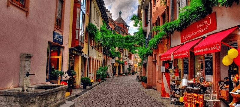 Treintickets naar Freiburg