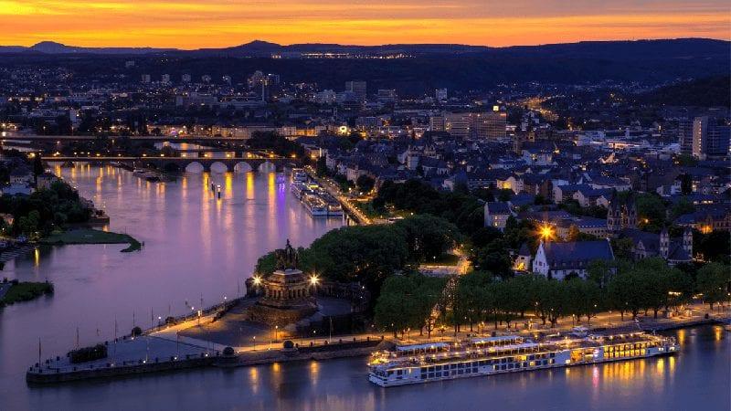 Treintickets naar Koblenz