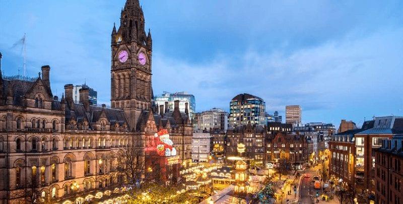 Trein Manchester