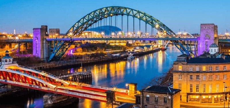 Trein Newcastle