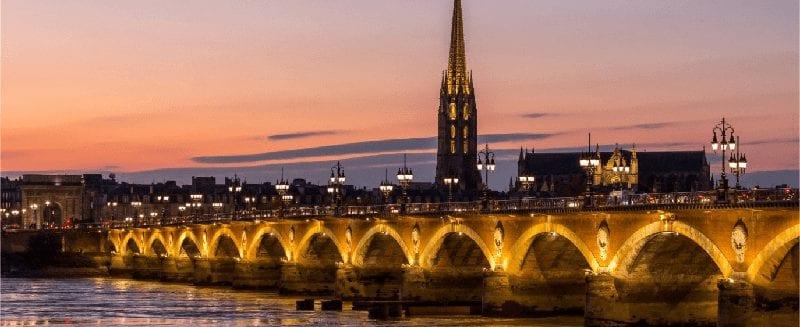 Trein naar Bordeaux
