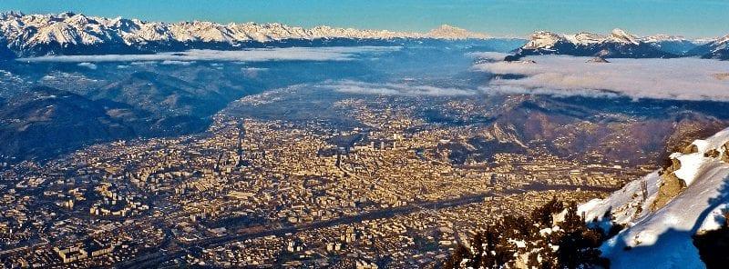 Trein naar Grenoble