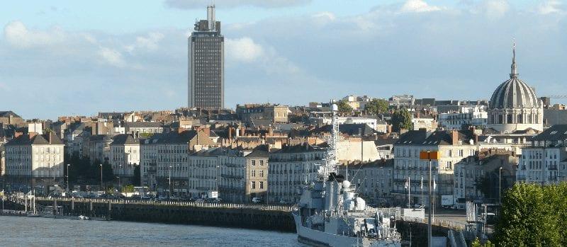 Trein naar Nantes