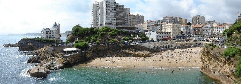 Treintickets naar Biarritz