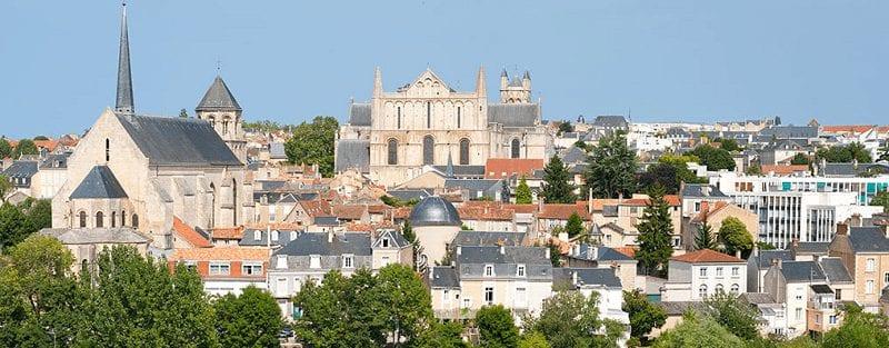 Treintickets naar Poitiers