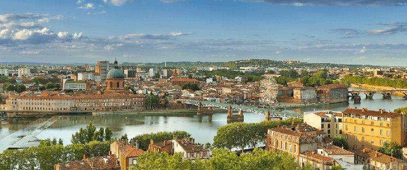 Treintickets naar Toulouse