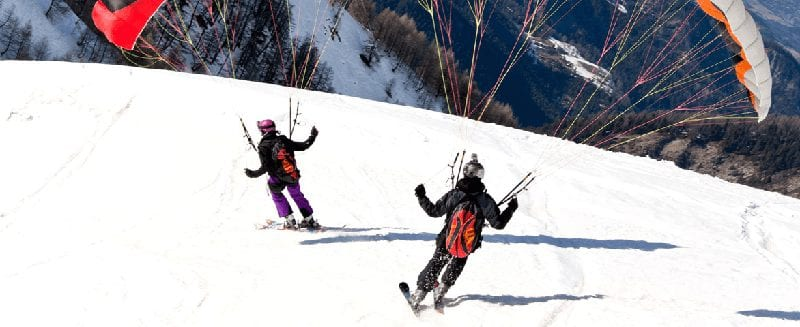 Wintersporten in Val Thorens