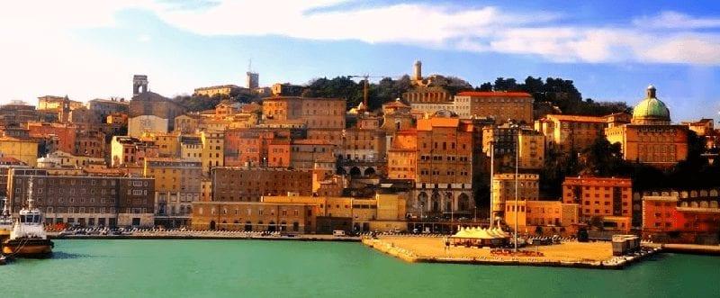 Treinreis naar Ancona