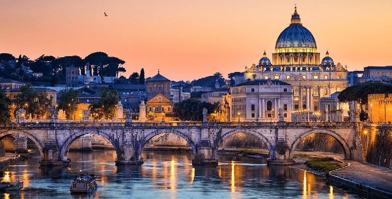 Treintickets naar Rome