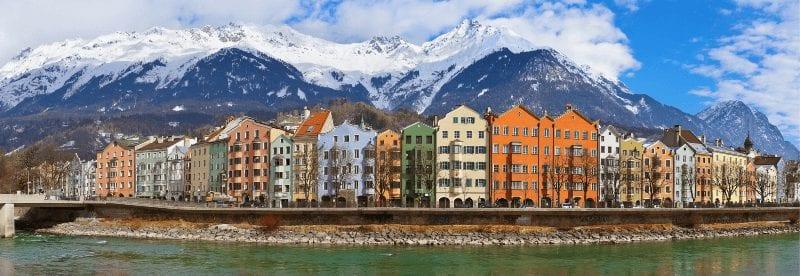 Treinreis naar Innsbruck