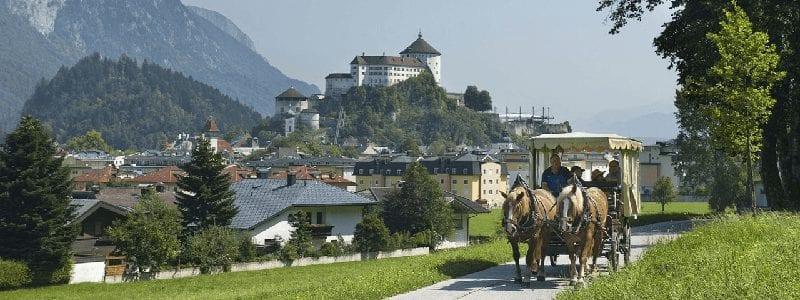 Treinreis naar Kufstein