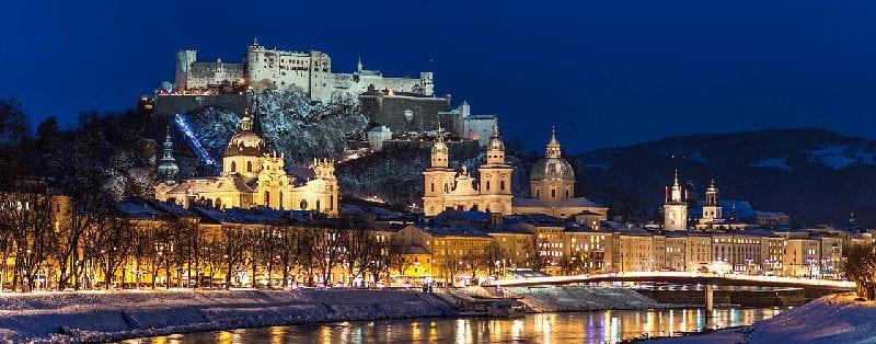 Treinreis naar Salzburg