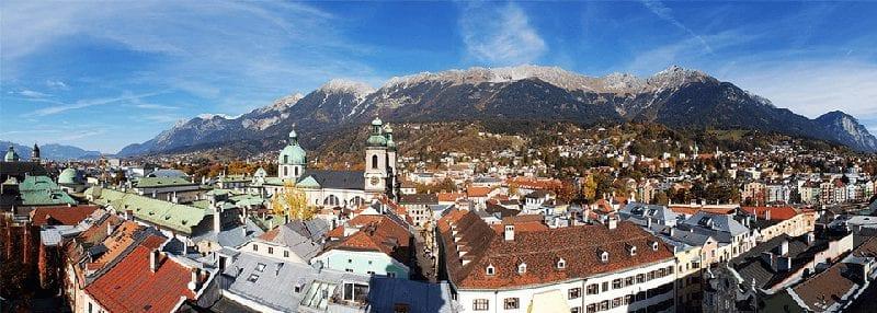 Treinreis naar Tirol