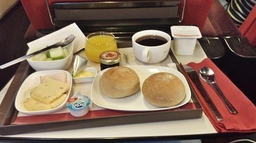 Eten in Thalys