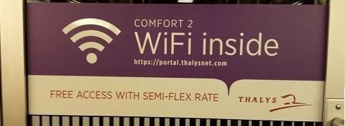 Gratis Wifi in Thalys