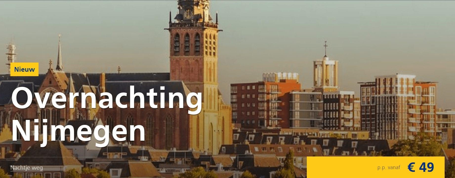 Trein en Hotel in Nijmegen