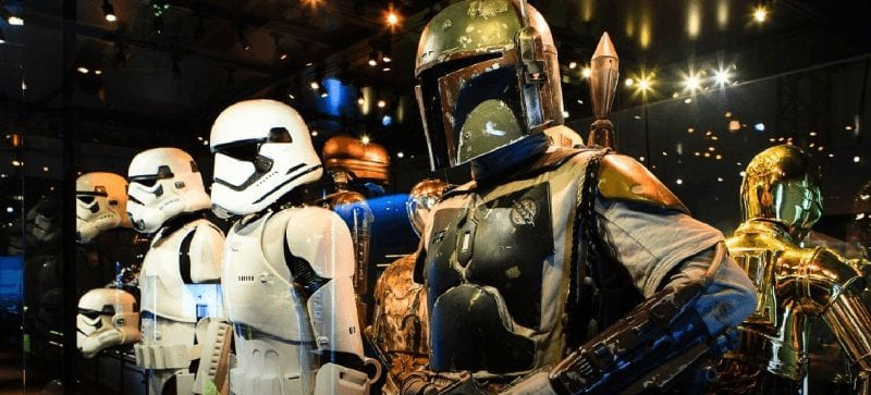 Trein naar Star Wars Identities