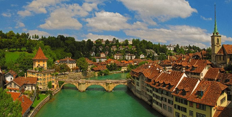 Treinreis naar Bern