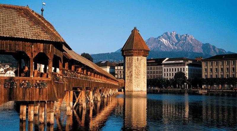 Treinreis naar Luzern