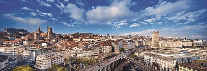 Treintickets naar Lausanne