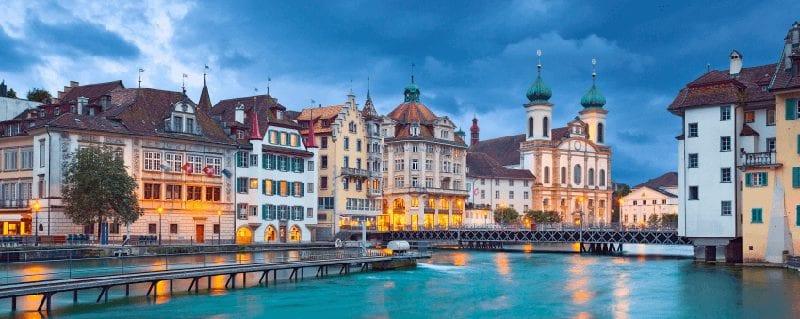 Treintickets naar Luzern