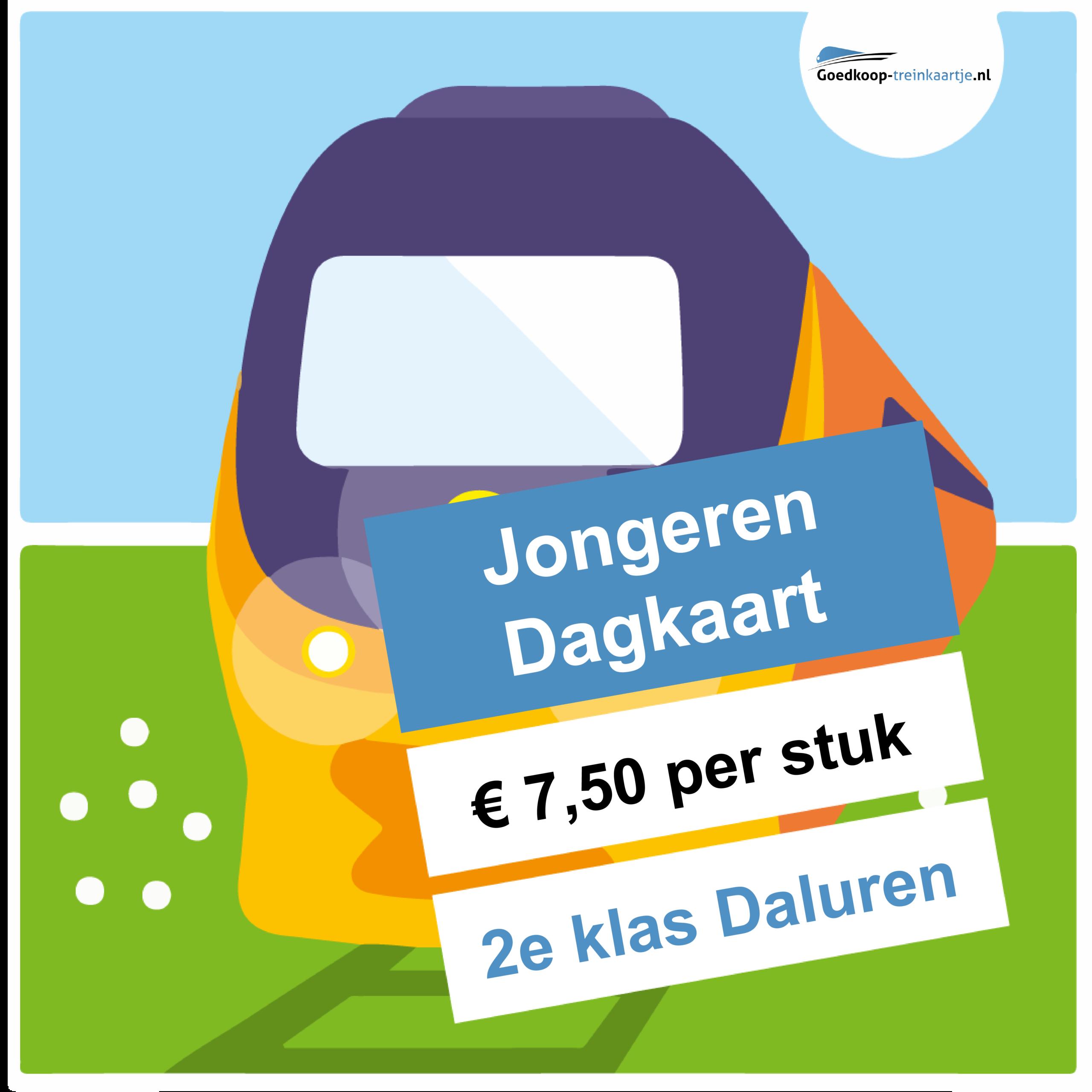 NS Jongeren Dagkaart Daluren