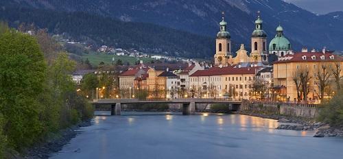 Trein naar Innsbruck